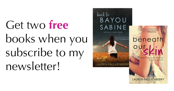 sign up and get my two free books